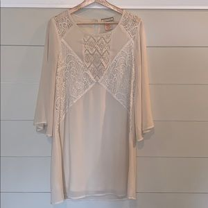 Country/Hippy dress w/ lace
